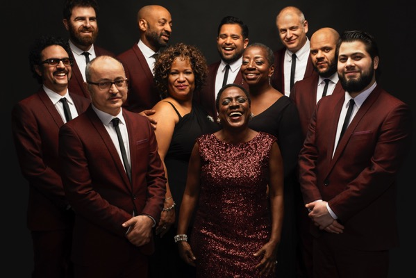 Sharon Jones and the Dap Kings Group Shot by Jacob Blickenstaff