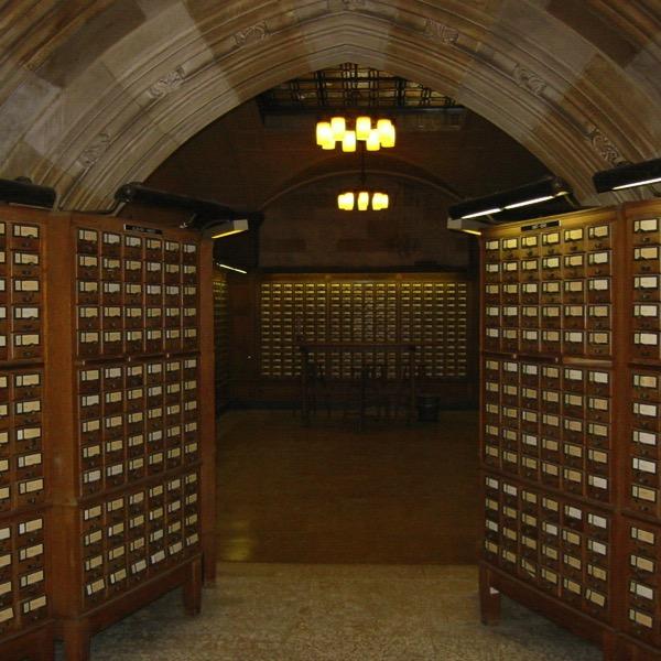 Yale card catalog